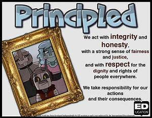 New IB Learner Profile Posters (Principled) - Replace your ...