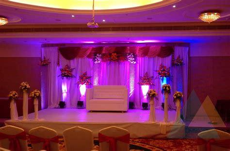 modern indian decor reception decoration at accord hotel pondicherry event