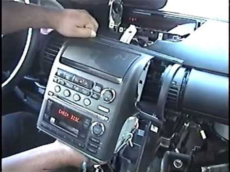 remove radio cd changer navigation