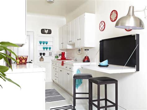 fold down kitchen table build a flip down kitchen table hgtv