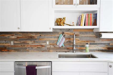 reclaimed wood backsplash tiles for kitchens bathrooms