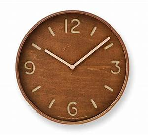 Wooden wall clock wilhelmina designs