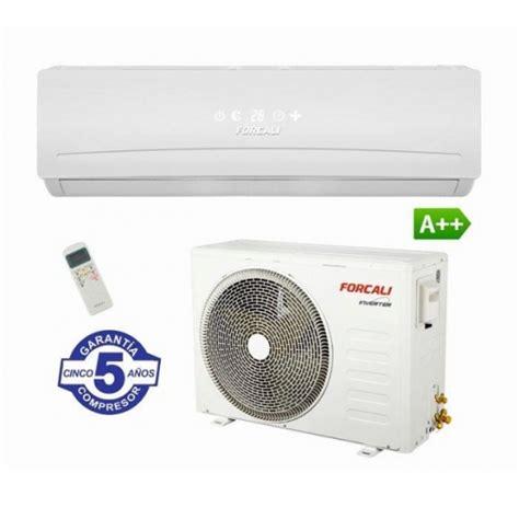 aire acondicionado forcali  frigorias inverter split