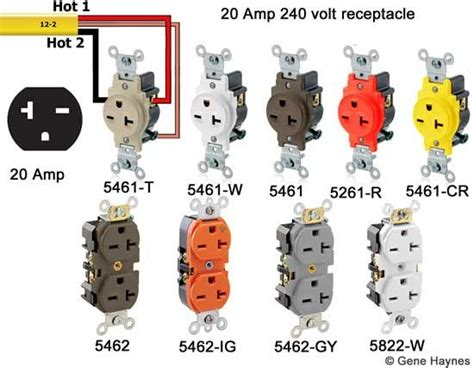 Volt Straight Blade Receptacle Cable