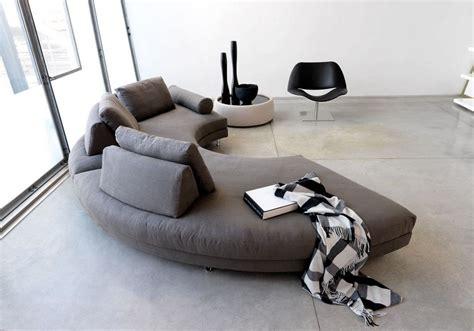 canape demi lune canapé demi lune et canapé rond 55 designs spectaculaires