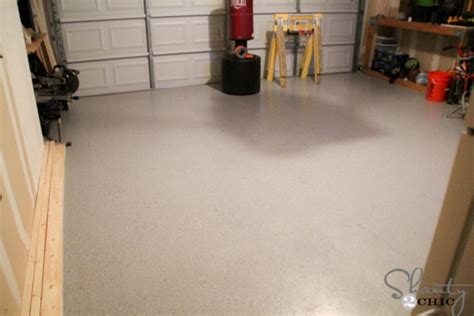 rustoleum garage floor coating garage floor makeover with epoxy