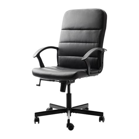ikea torkel swivel chair black computer desk home office