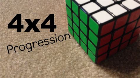 4x4 Progression In Official Wca