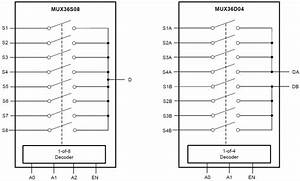 Mux36d04  Mux36s08 Analog Multiplexers