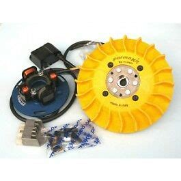 parmakit electronic ignition system 1kg flywheel yellow vespa px 200 disc ebay