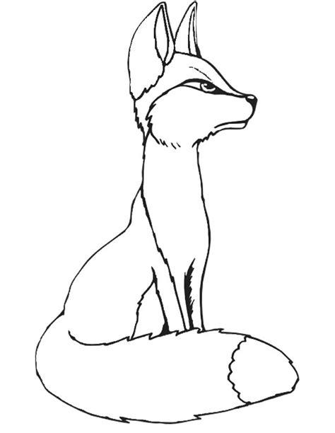 dessin renard facile coloriage renard 224 imprimer gratuitement