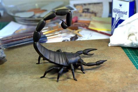 polymer clay scorpion  clay animal molding  cut