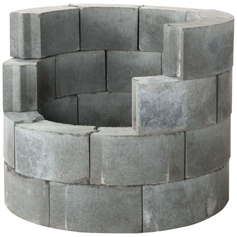 bloc de b 233 ton pour foyer foyers d ext 233 rieur canac
