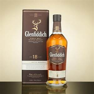 Glenfiddich 18 Year Old Speyside Single Malt Scotch Whisky ...
