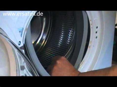 video guide das austauschen von der tuermanchette bei