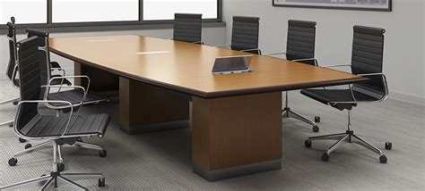 conference room table furniture complete the look of the boardroom with conference table