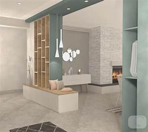 Separation Salon Chambre : separation salon et entree new cloison s paration entr e ~ Zukunftsfamilie.com Idées de Décoration