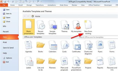 change  powerpoint template cpanjinfo