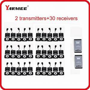 Yarmee Wireless Tour Guide System Vhf Frequency Wireless