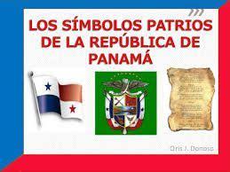 Los símbolos patrios de panamá: La Bandera el escudo El ...