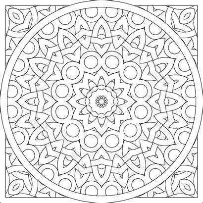 Coloring Pattern Pages Circle