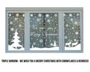 from 12 for christmas window stickers christmas is coming pinterest christmas trees