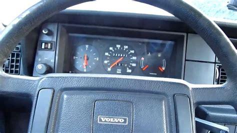 volvo  dl  interior dashboard view youtube