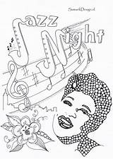 Coloring Pages Ella Fitzgerald Famous Printable Pdf Word History Adult Month Adults Human Reading Comprehension Christmas Worksheets Blonde Kindergarten Discover sketch template