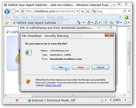 internet change agent user explorer string installation switcher temporary confirm once need file