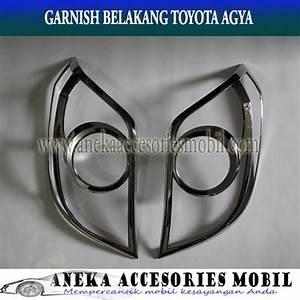 Jual Garnish Lampu Belakang Mobil Toyota Agya Di Lapak