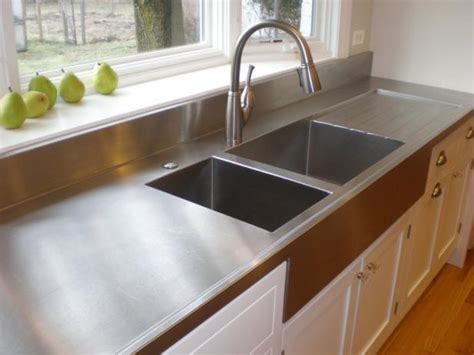 how to choose a stainless steel kitchen sink choosing countertops stainless steel diy 9701