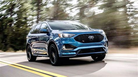 ford edge st  gas mileage  reviews