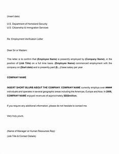 Employment Verification Letter Template  bbqgrillrecipes