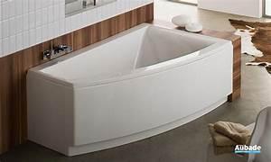 Baignoire D Angle 130x130 : baignoire d 39 angle allia esquisse espace aubade ~ Edinachiropracticcenter.com Idées de Décoration