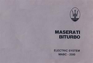 Biturbo Electrical System