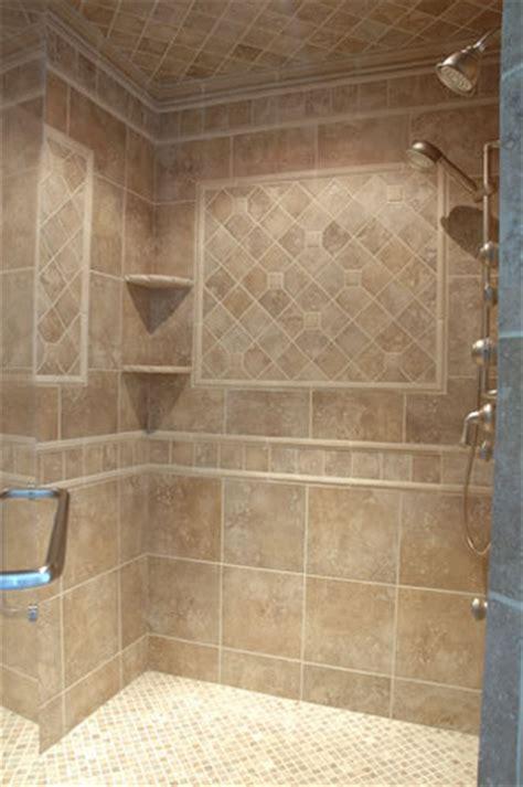 travertine bathroom ideas custom tiled shower beresconstruction com beres