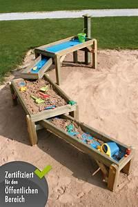 sandtisch holzhof spiel wasser sandkasten wasser strasse With französischer balkon mit garten spiele kostenlos