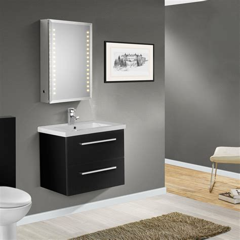 600mm wall hung vanity unit 600mm wall hung high black gloss finish bathroom cabinet