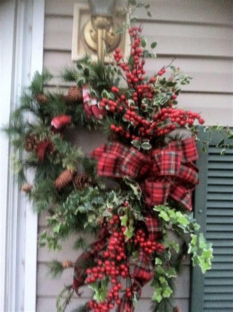 my front door christmas wreath work winter pinterest