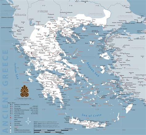 ancient greek maps  history link
