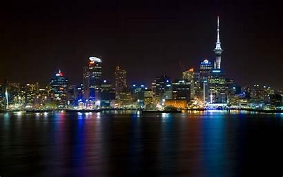 Skyline Carnival Wallpapers Widescreen Auckland Hintergrundbilder Nacht