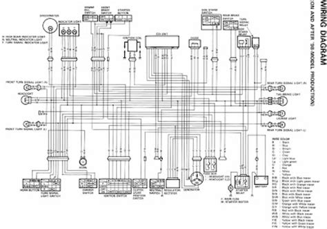 Suzuki Motorcycle Wiring Diagram All About