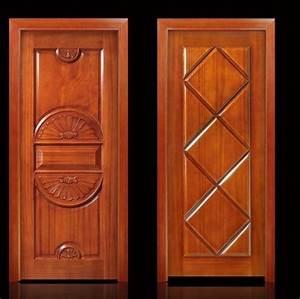 porte en bois massif original style europeenne naturel With style de porte interieur