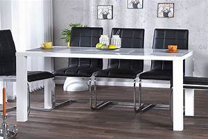 Tisch Weiß Hochglanz : design esstisch lucente wei hochglanz 160cm tisch riess ~ Eleganceandgraceweddings.com Haus und Dekorationen