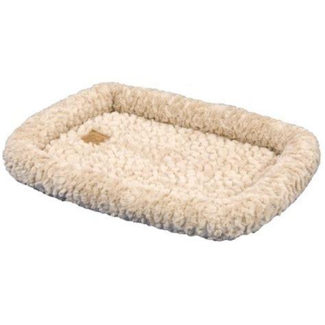 precision pet precision pet snoozzy crate bumper bed tan