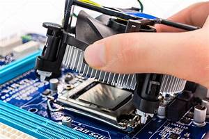 Installing Cpu Cooler  U2014 Stock Photo  U00a9 Mark800  50950465