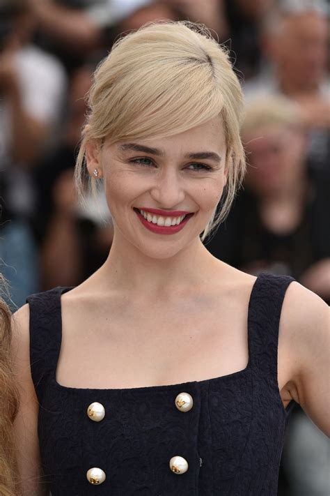 emilia clarke emilia clarke quot a wars story quot photocall in cannes