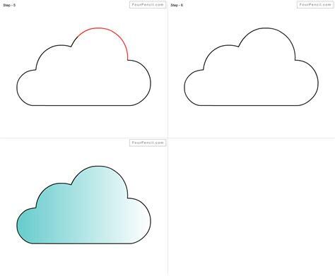 draw  cloud  kids step  step drawings