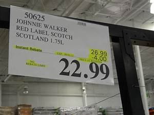 johnny walker red label scotch With costco address labels