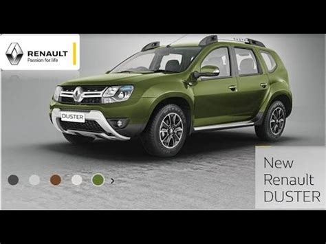 New Renault Duster 2016 Seven Color Variants Youtube